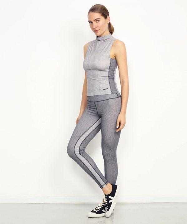 Yoga leggings hoch geschnitten