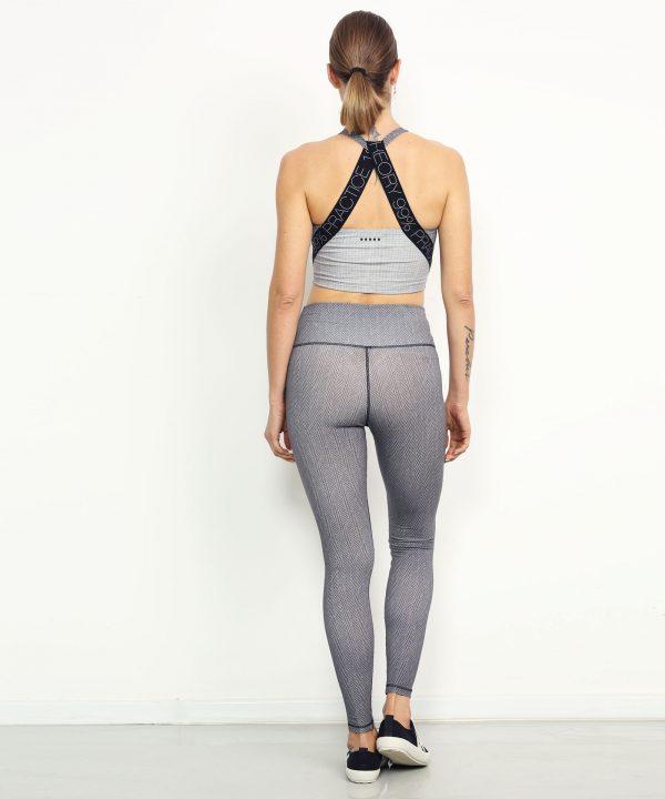 Yoga Top wide print asthanga