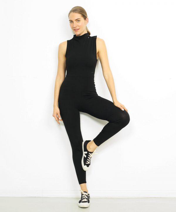Yoga Bodysuit schwarz