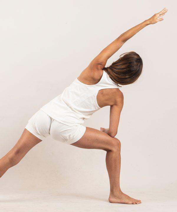 Geripptes Oberteil Yoga