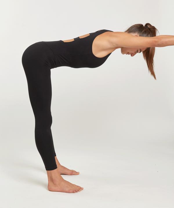 Overall schwarz Yoga