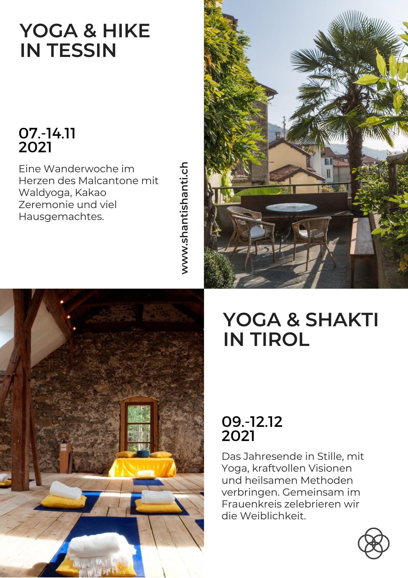 Yoga Ferien Schweiz