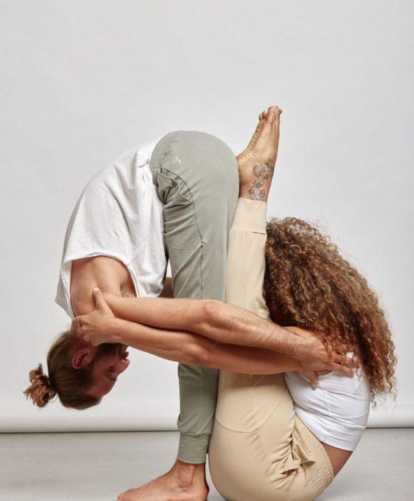 Freizeithose easy going pants Bio-Baumwolle Yoga
